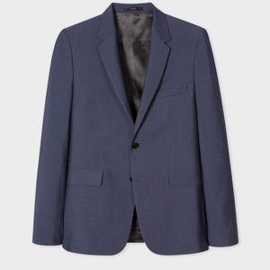 Paul Smith sz. 42 steel blue.msrp $1495.00